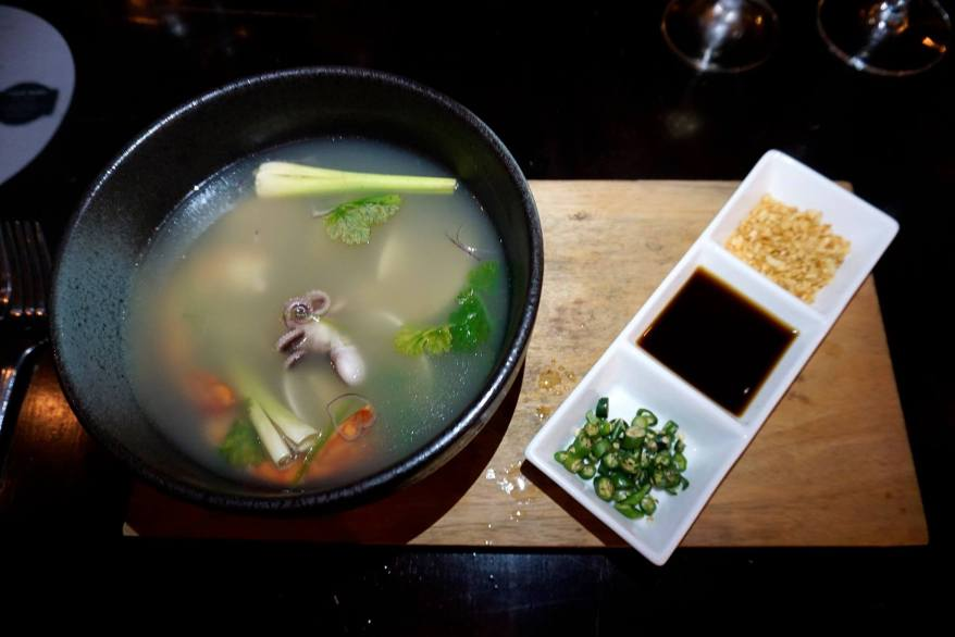 Signature Clear Coconut Seafood Soup