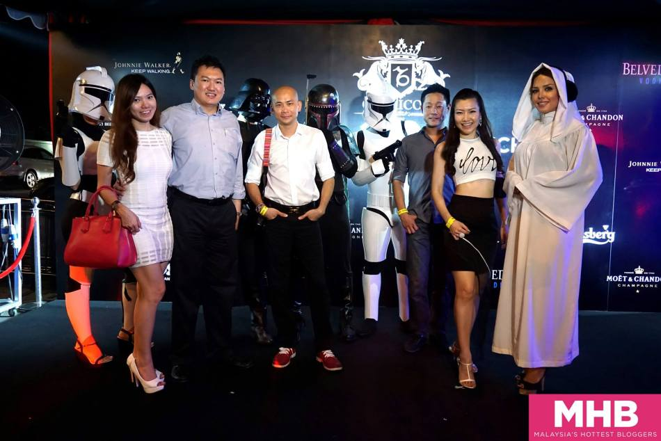 The launch party had a Star Wars theme