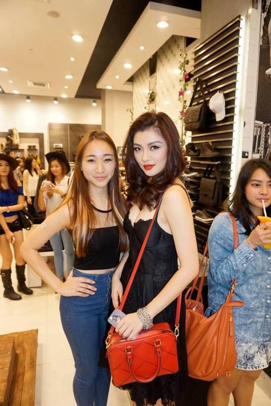 Melissa Thng and Carey Ng