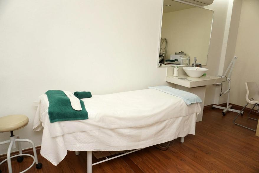 Modern and spacious treatment rooms