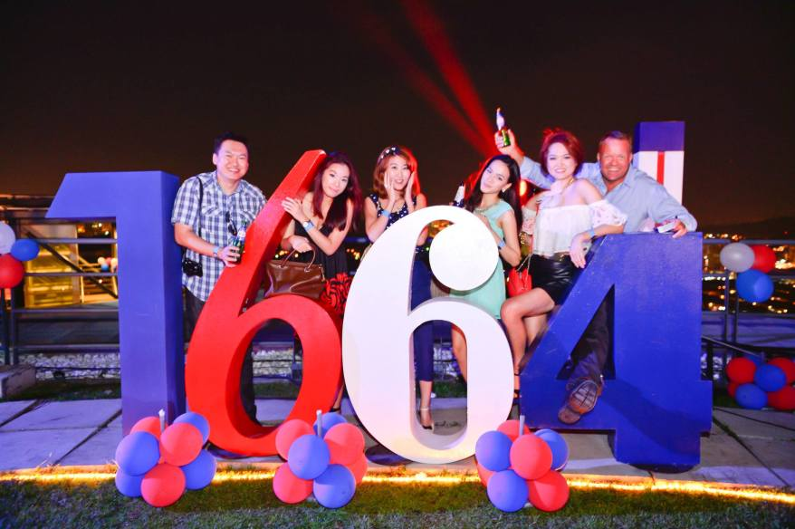 """Kronenbourg 1664's """"Taste the French Way of Life"""" Rooftop BBQ Party"""