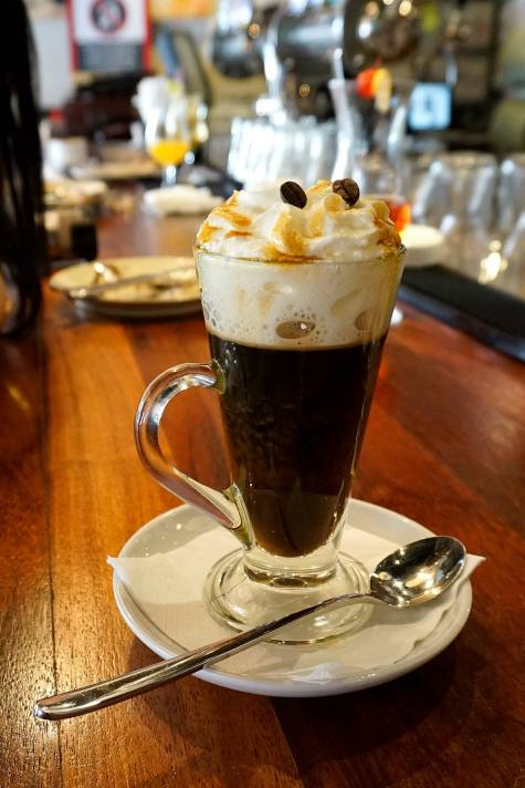 Spanish coffee