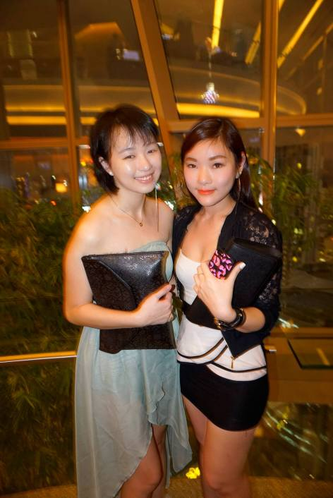 Joyee and her friend