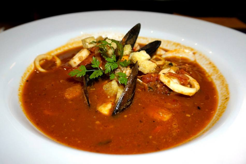 Mediterranean Style Seafood Soup