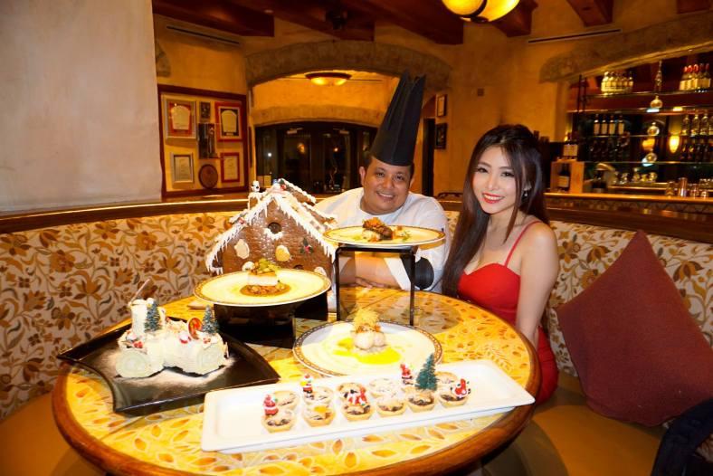 Executive Sous Chef Kamaruddin Adnin with Alexis