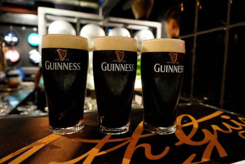Lots of the freshest and best ice-cold pints of Guinness draught in Malaysia!