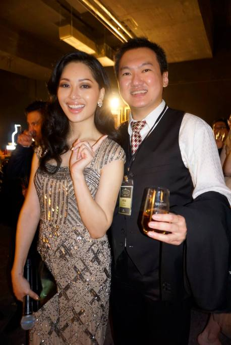 With MC of the event Sarah Lian