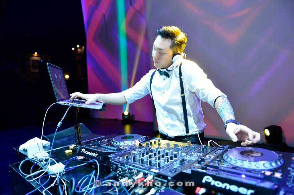 DJ Ken from Zouk Club KL played a thumping set and closed the party