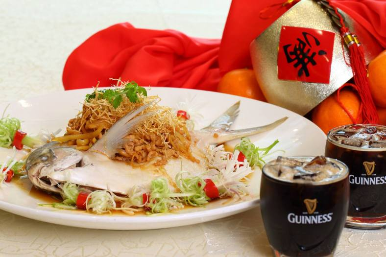 """Steamed Pomfret """"Traditional"""" Style"""