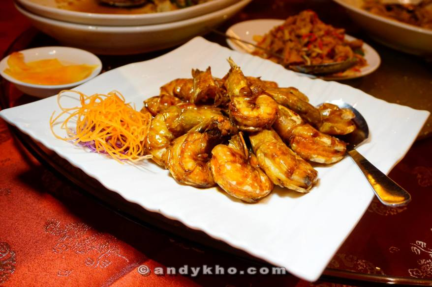 Baked Ming Prawns with Japanese Sauce