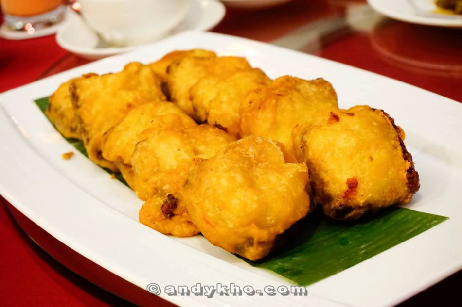 Deep Fried Nian Gao with Sweet Potato and Yam