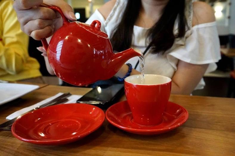 Tea by the pot - RM6.00