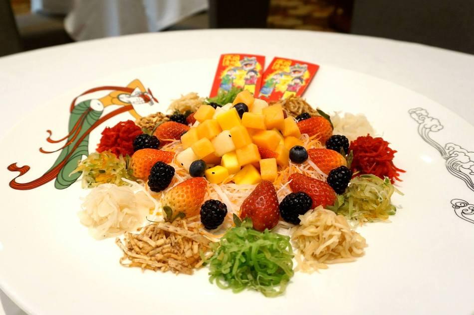 Fruity Fiesta Yee Sang