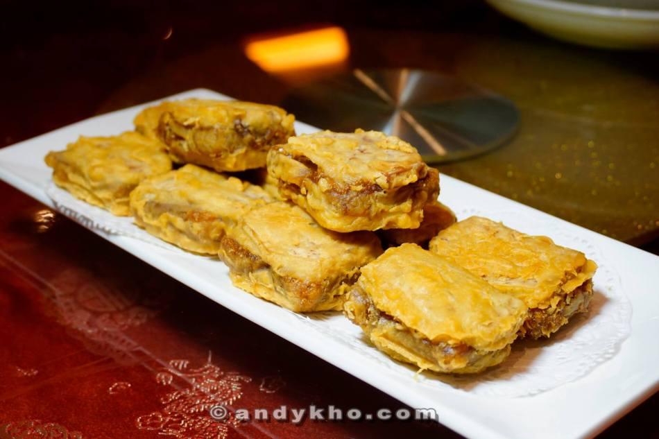 Crispy Chinese New Year Pancake with Yam