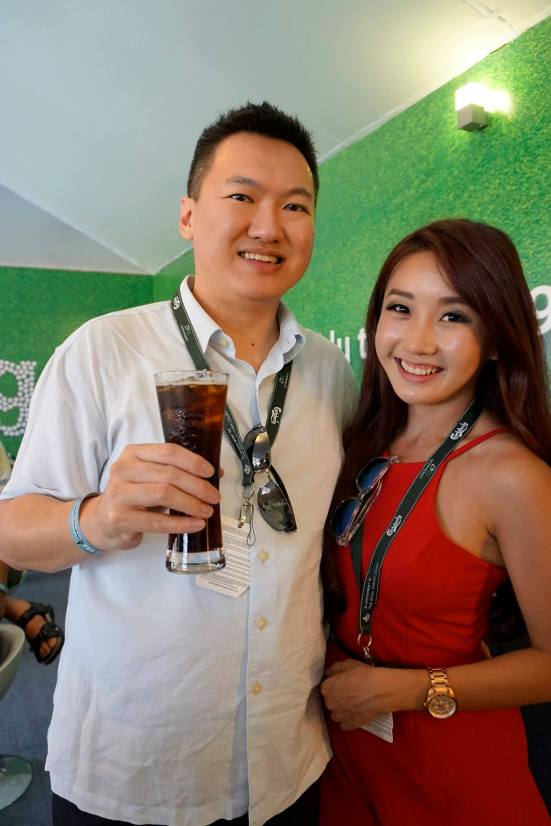Met my old FHM Girl Next Door 2010 Michelle Lee there. She 's now a presenter on Astro SuperSports!
