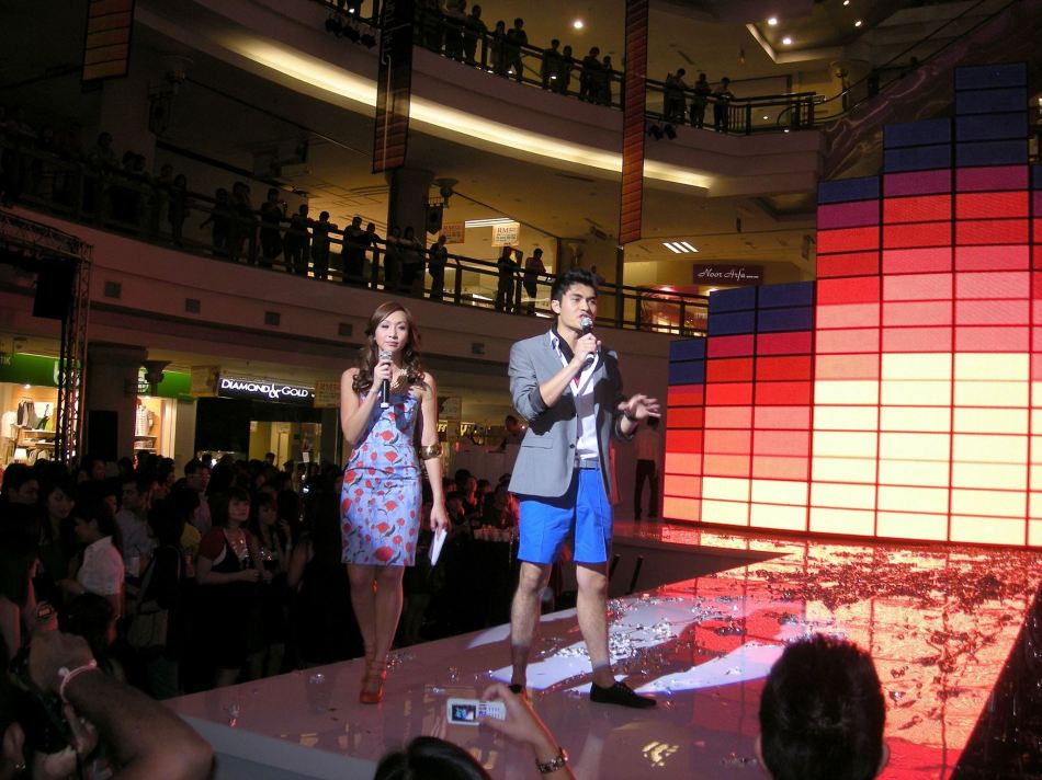 Belinda Chee and Henry Golding were the hosts of the night