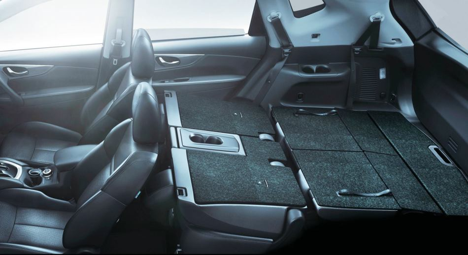 Load capacity of 1,520 litres (with second and third row seats folded flat)