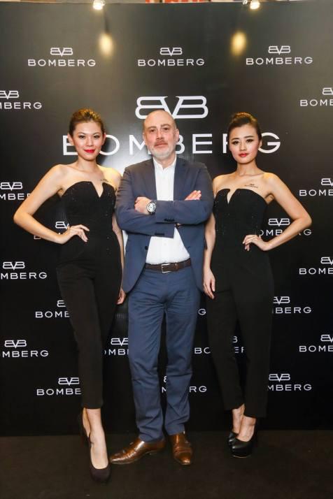 BOMBERG CEO Giancarlo Mantuano