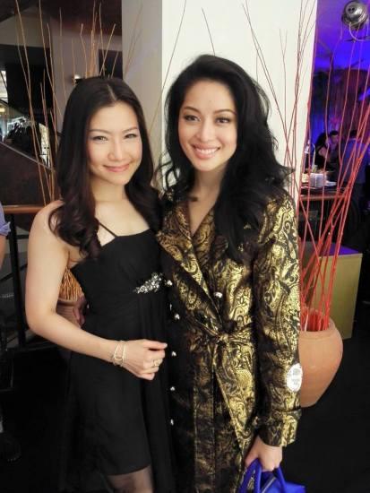 Veron with Sarah Lian