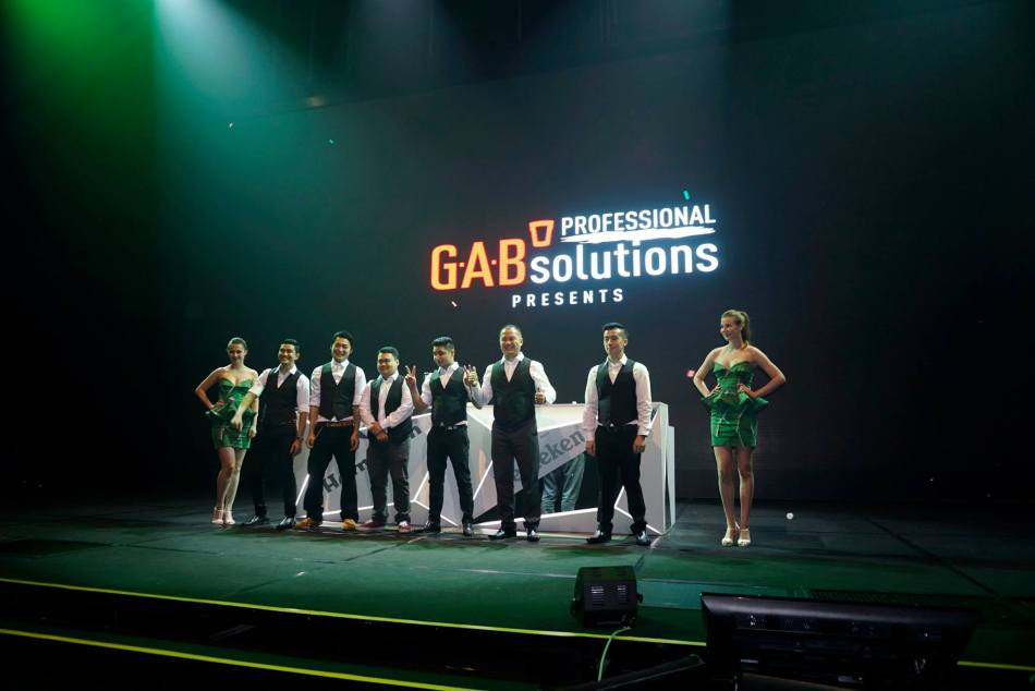 The six (6) finalists of the GAB Professional Solutions (GABPS) Academy National Finals 2015