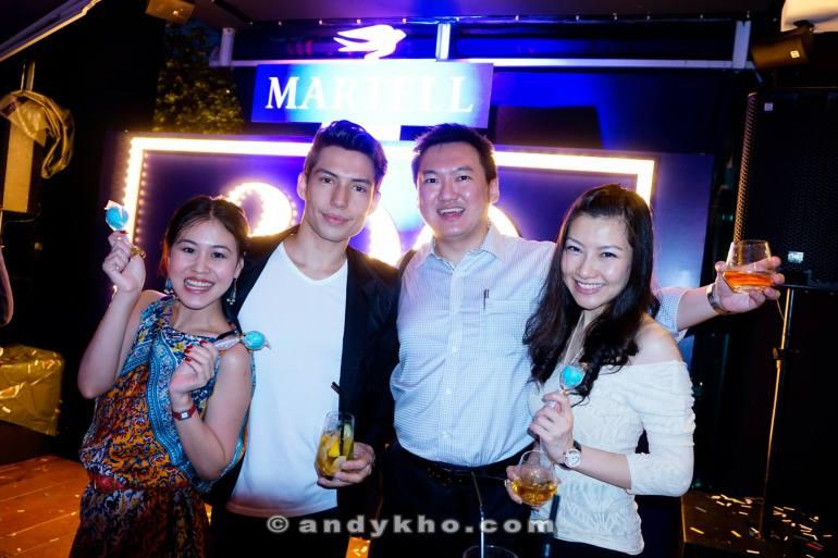 With Veron and Josiah Mizukami and girlfriend