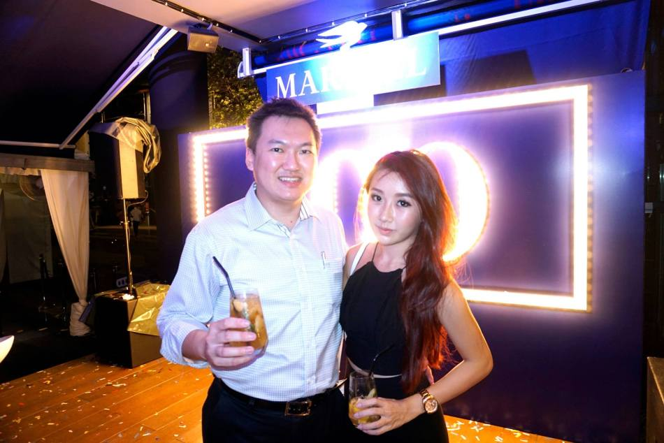 With Michelle Lee - FHM Girl Next Door 2010 finalist and host on Astro Supersports