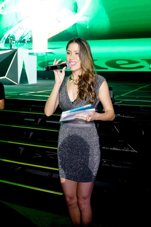 The pretty Nadia Heng was the MC of the event
