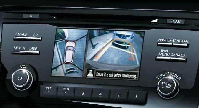 5-inch Advanced Drive Assist Display