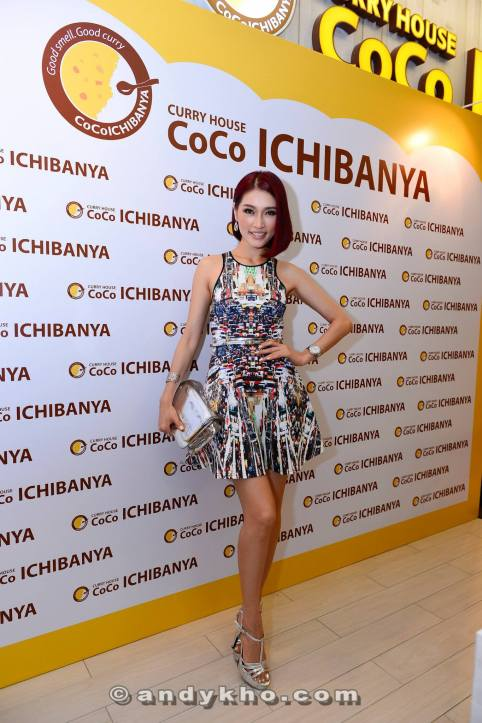 Celebrities such as Amber Chua attended the launch too
