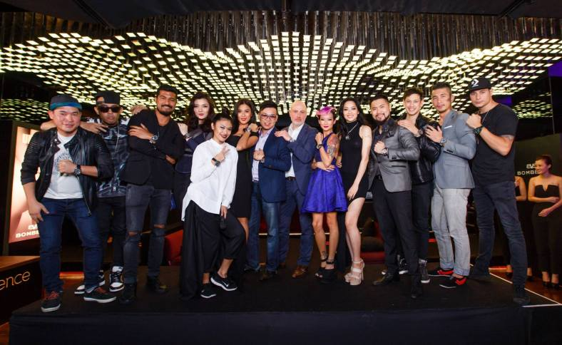 Among some of the celebrities who were sponsored BOMBERG timepieces from the BOLT-68 collection were Peter Davis, Joe Flizzow, Roen Nagapan, Carey Ng and Sarah Lian