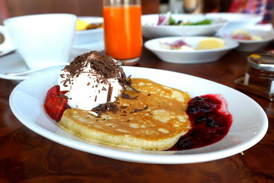 Nice fluffy pancakes!