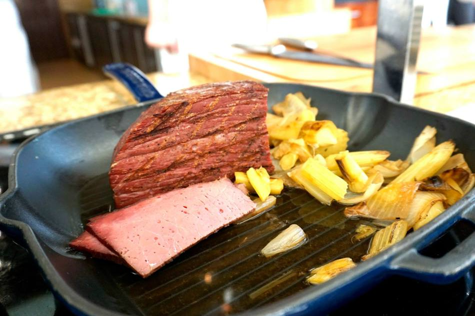 Absolutely loved the corned beef!