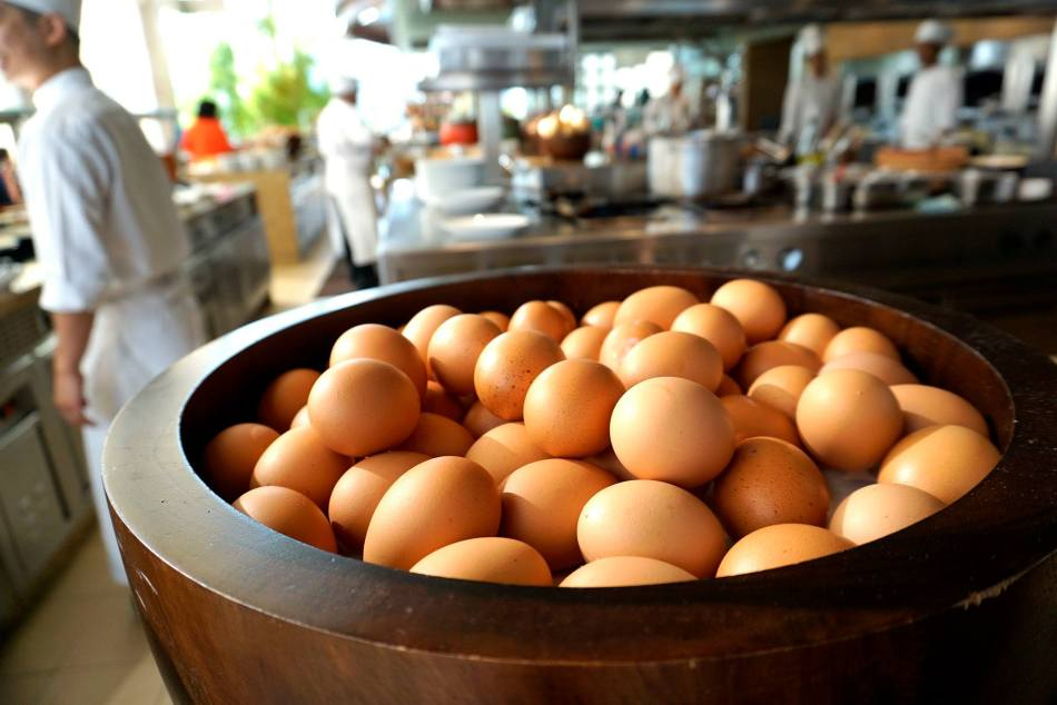 Eggs done whichever way you wanted