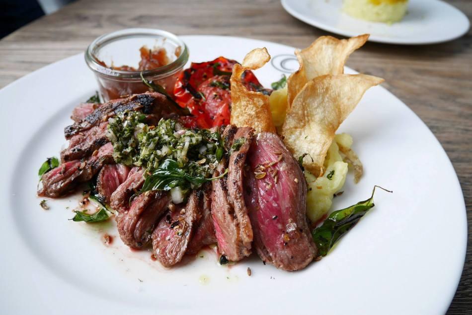 Charred Angus Flank Steak