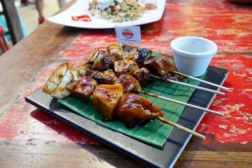 Naughty Nuri's BBQ Chicken Satay - RM25.00