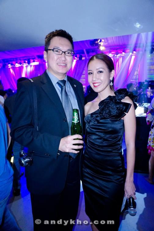 With the MC of the night - Megan Tan