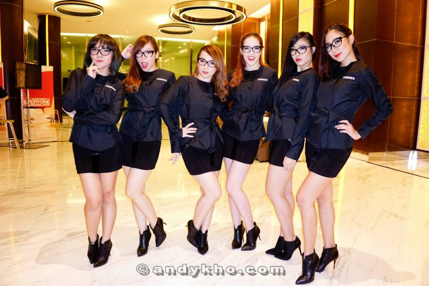 Cecilia Yong and her sexy dancers