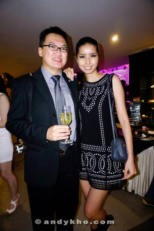With STYLO Model of the Year 2015 Eleen Yong