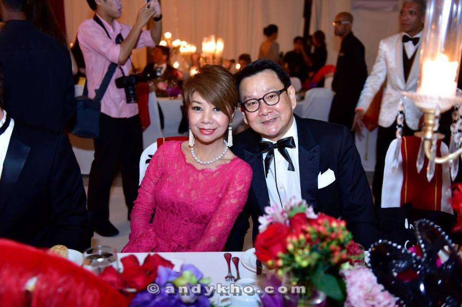 Winnie Loo and friend at the dinner
