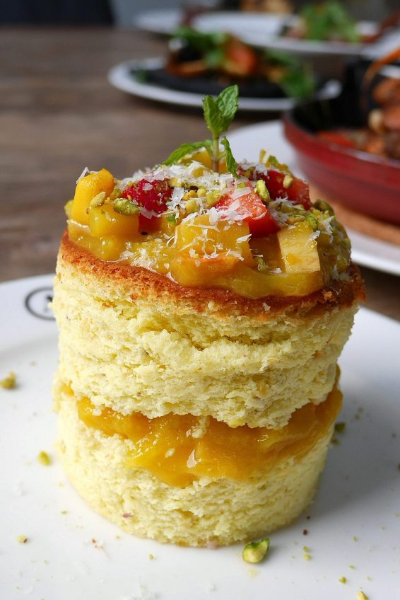 Mango Pistachio Roulade