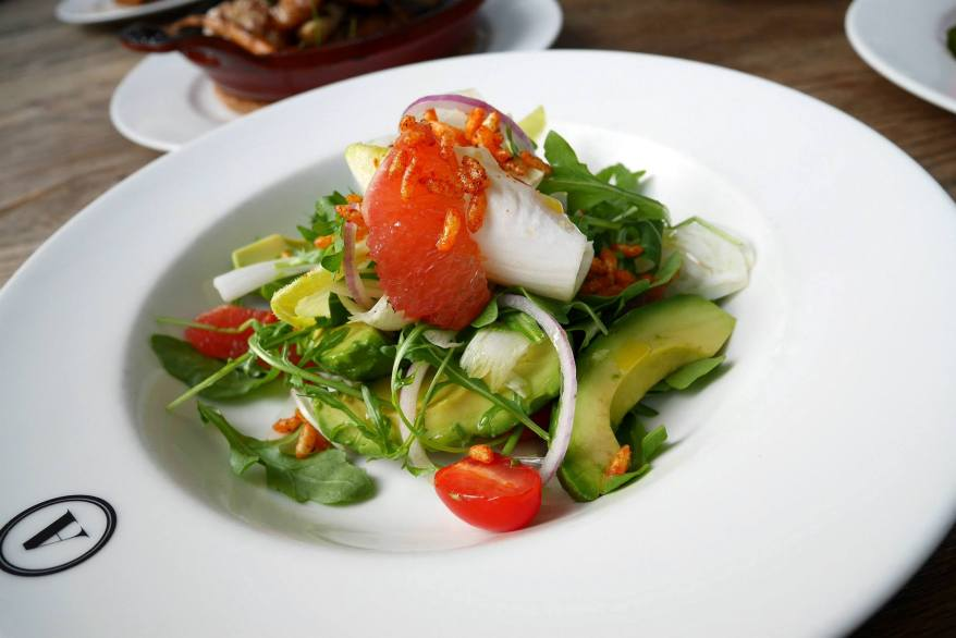 Avocado & Grapefruit Fennel Salad