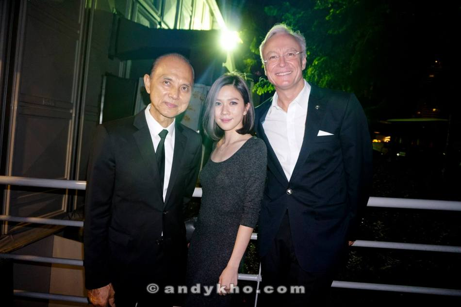 Dato Jimmy Choo with Jiali and Roland Folger, President & CEO of Mercedes-Benz Malaysia (L-R)