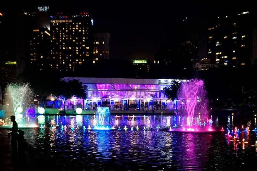 The venue was the Symphony Lake Suite @ KLCC