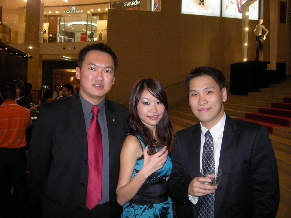 With Joo and Colin