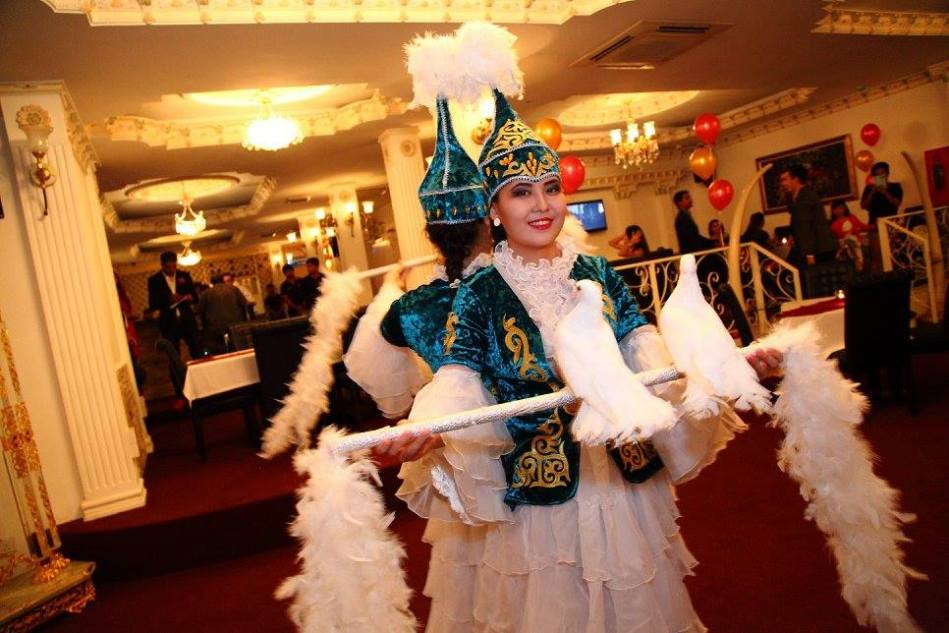 We were treated to some Russian performances including this bird dance