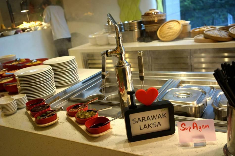 Nook's signature Sarawak laksa