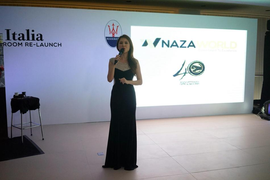 Once inside the newly renovated showroom, we were ushered upstairs for dinner. Popular TV personality and model Julie Woon was the MC for the evening.