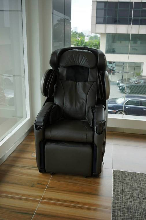 The most popular chair in the whole centre