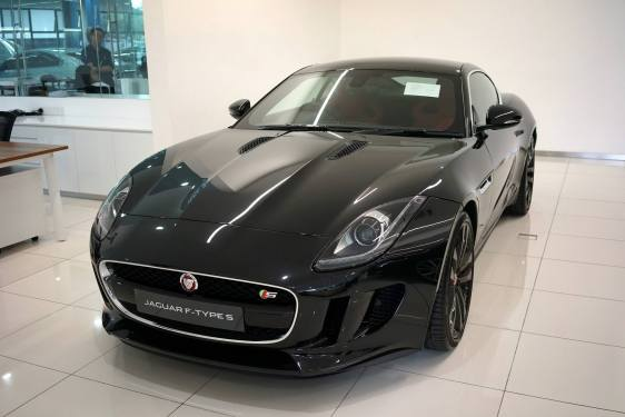 The gorgeous Jaguar F Type