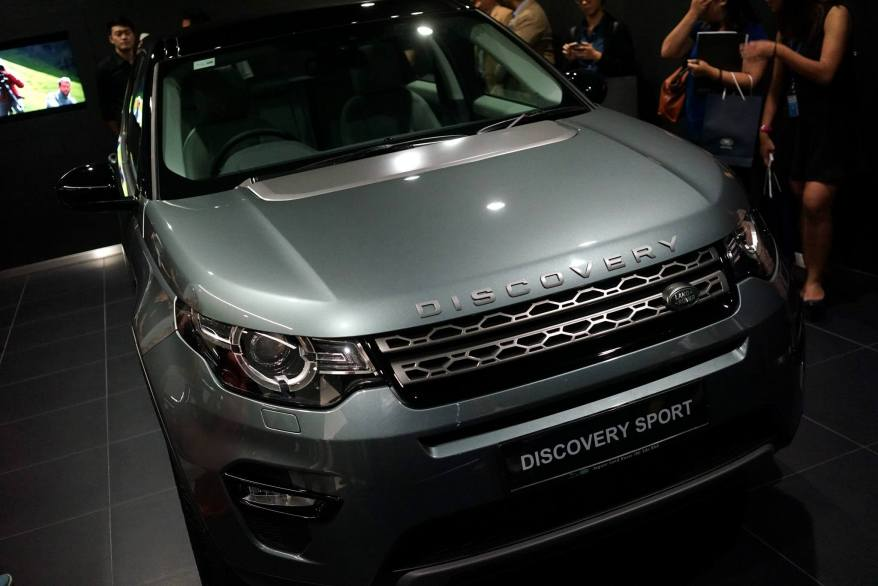 We were given a sneak preview of the soon to be launched Discovery Sport in the delivery room